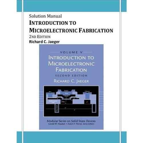 حل المسائل کتاب ساخت ادوات میکروالکترونیک جاگر
